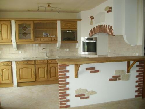 Dievart cuisine et bain r alisation de cuisine quip e et salle de bain sur rouen haute Cuisines equipees